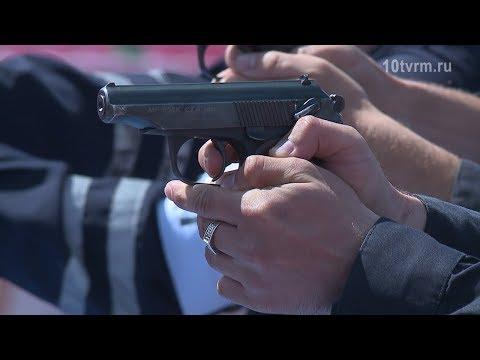 Полицейская эстафета в Саранске