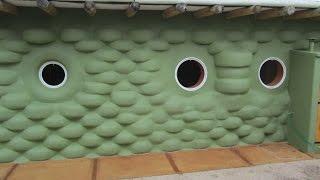 Como se hace una casa de neumáticos,  Building  Earthship