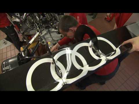 Audi R15 plus - Assembling