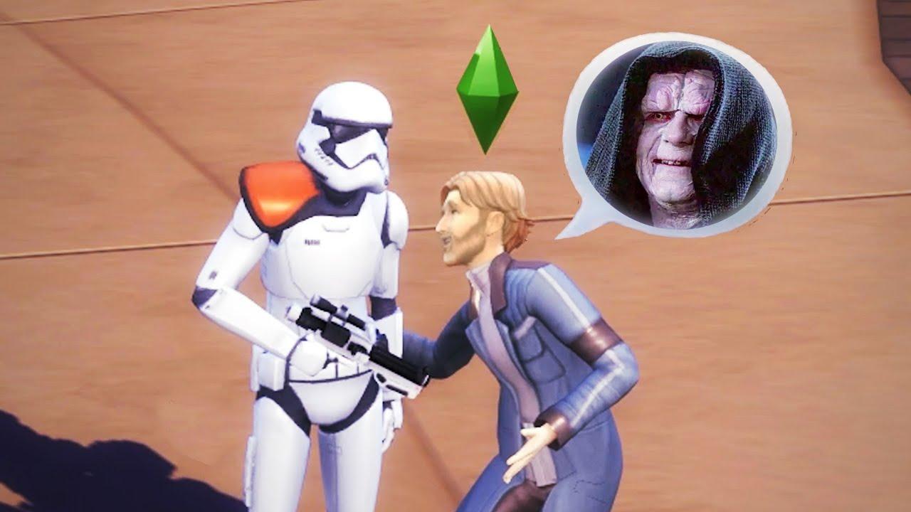 Wie reagieren Stormtrooper auf mein Geläster?