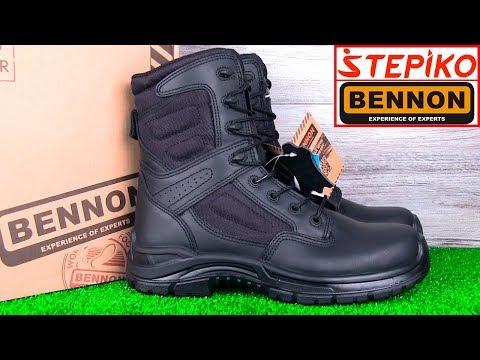 Тактические ботинки BENNON COMMODORE LIGHT 01. Видео обзор от STEPIKO