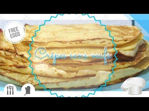 ►-recette-|-crêpes-sans-oeufs-♥