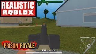 BATTLE ROYAL IN ROBLOX! ROBLOX PRISON ROYALE