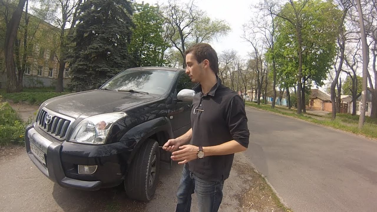 Тест драйв от Коляныча #6 TOYOTA Land Cruiser PRADO 2.7 (Тойота .