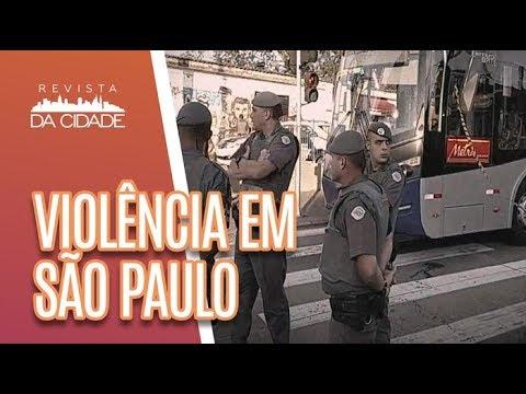 Dados Sobre A VIOLÊNCIA Em São Paulo - Revista Da Cidade (24/04/2018)