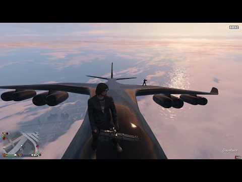 GTA Riding Ships Mast on a Jet Aircraft