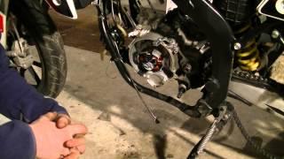 Demontage moteur am6 #1 - L'allumage