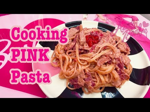 Cooking PINK Pasta♡ Azusa Barbie