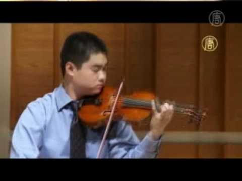 Konzertmeister der New Yorker Philharmoniker über NTD's Violinen-Wettbewerb
