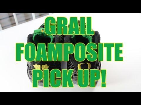 """Nike Sneaker Grail Foamposite Pick Up """"Oregon Ducks"""" (@itsalhill)"""