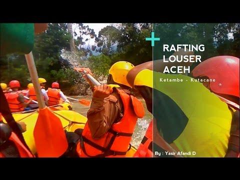 Rafting [Arung Jeram] di Sungai Lawe Alas Gunung Leuser - Aceh