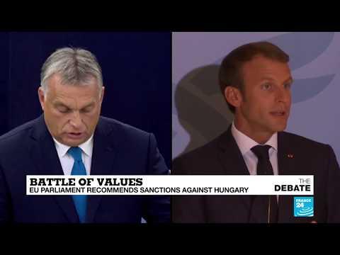 Battle of values: EU Parliament recommends sanctions against Hungary