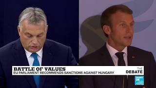 Baixar Battle of values: EU Parliament recommends sanctions against Hungary