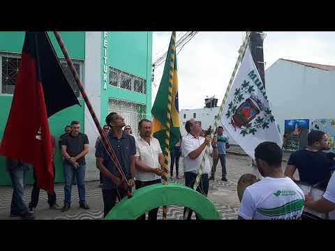 EM MULUNGU: PREFEITO PARTICIPOU DE HASTEAMENTO DE BANDEIRAS EM COMEMORAÇÃO AO 7 DE SETEMBRO. CONFIRA!