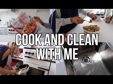 COOK AND CLEAN WITH ME 2018 | EASY SLIMMING WORLD MEAL IDEAS