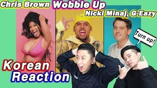 🔥(ENG)/ KOREAN Rappers / react to Chris Brown - Wobble Up ft. Nicki Minaj, G-Eazy 💧💧