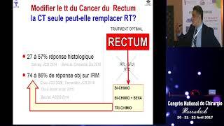 6- Métastases hépatiques synchrones résecables d'un cancer du bas rectum. Pr Kianmanesh