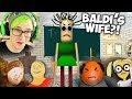 BALDI HAS A WIFE?! | Baldina's Basis in Education Literary Grammar