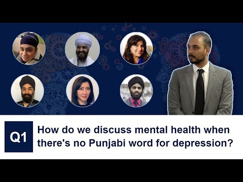 How do we discuss mental health when there's no Punjabi word for depression?