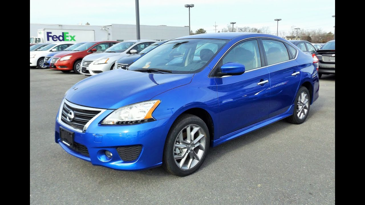2014 Nissan Sentra SR Start Up, Tour And Review   YouTube