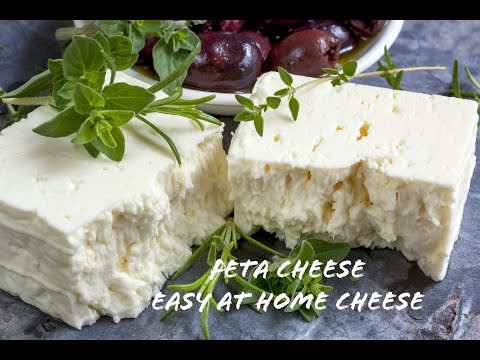 Feta Cheese- How to Make this Easy Cheese at Home