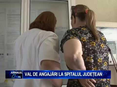 VAL DE ANGAJARI LA SPITALUL JUDETEAN