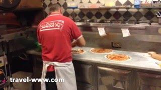 Как готовится самая вкусная пицца на Лазурном берегу Франции./ The best pizza(Недалеко от нашего дома в Ментоне (Франция) есть итальянская пиццерия, где готовится самая вкусная пицца,..., 2014-02-04T01:09:17.000Z)