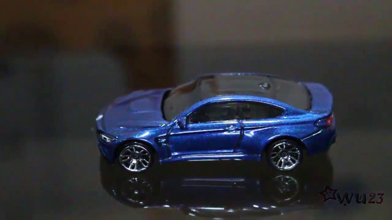 Hot Wheels BMW M4 Dark Blue 2017 Factory Fresh 8//10 C-case F82 F83 car m-coupe