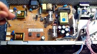 Ремонт монитора LG L1952S. Не включается