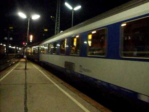 Chopin overnight train to Warszawa leaving Wien Westbf (2009)
