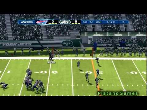 NFL 2012 Season Week 1 - Buffalo Bills vs New York Jets - 1st Half - Madden NFL