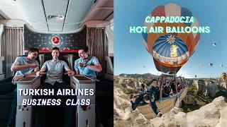 Turkish Delight: Business Class for a Bucketlist Worthy Hot Air Balloon Ride
