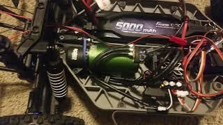 Slash 4x4 CC 1415 2400kv sensored motor with Mamba X
