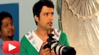 Ankush Chaudhari Turns Into A Photographer
