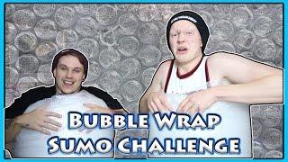 Bubble Wrap Sumo Wrestling Challenge w/AshDubh