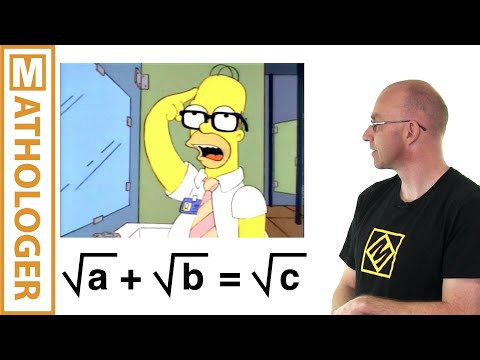 Math in the Simpsons: Homer's theorem