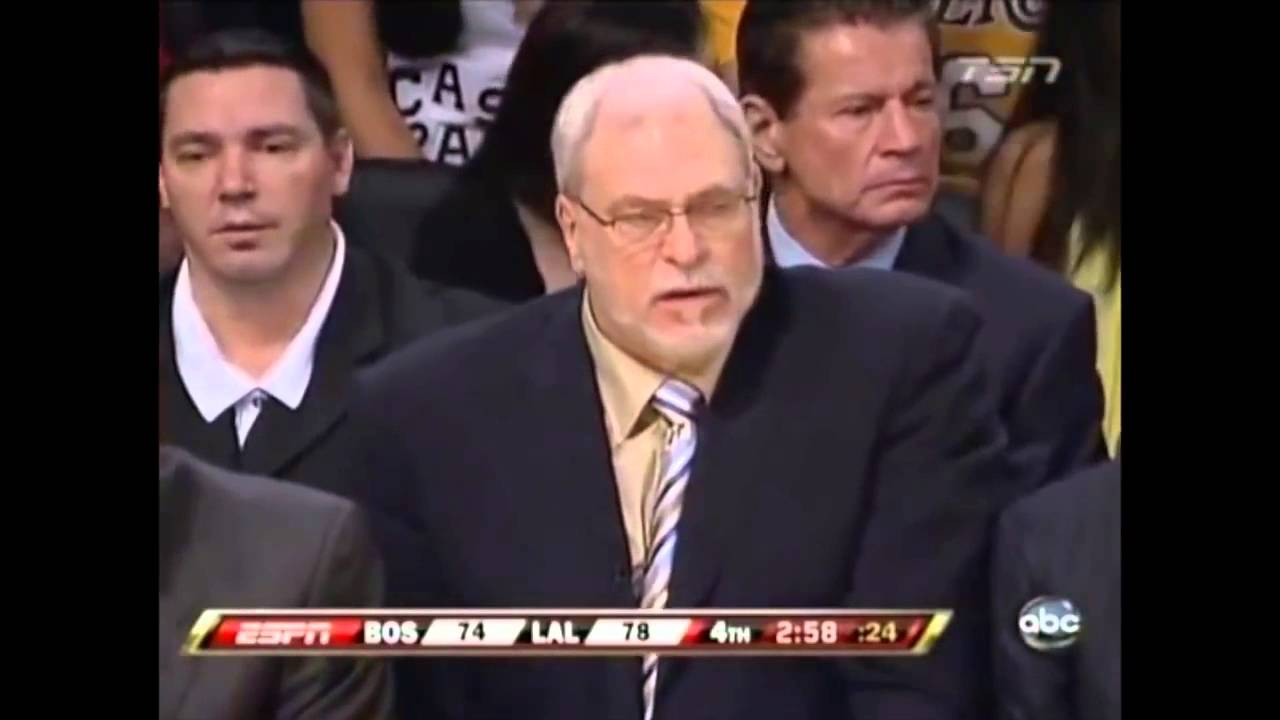 PJ Brown Age 38 shuts down Pau Gasol 2008 NBA Finals