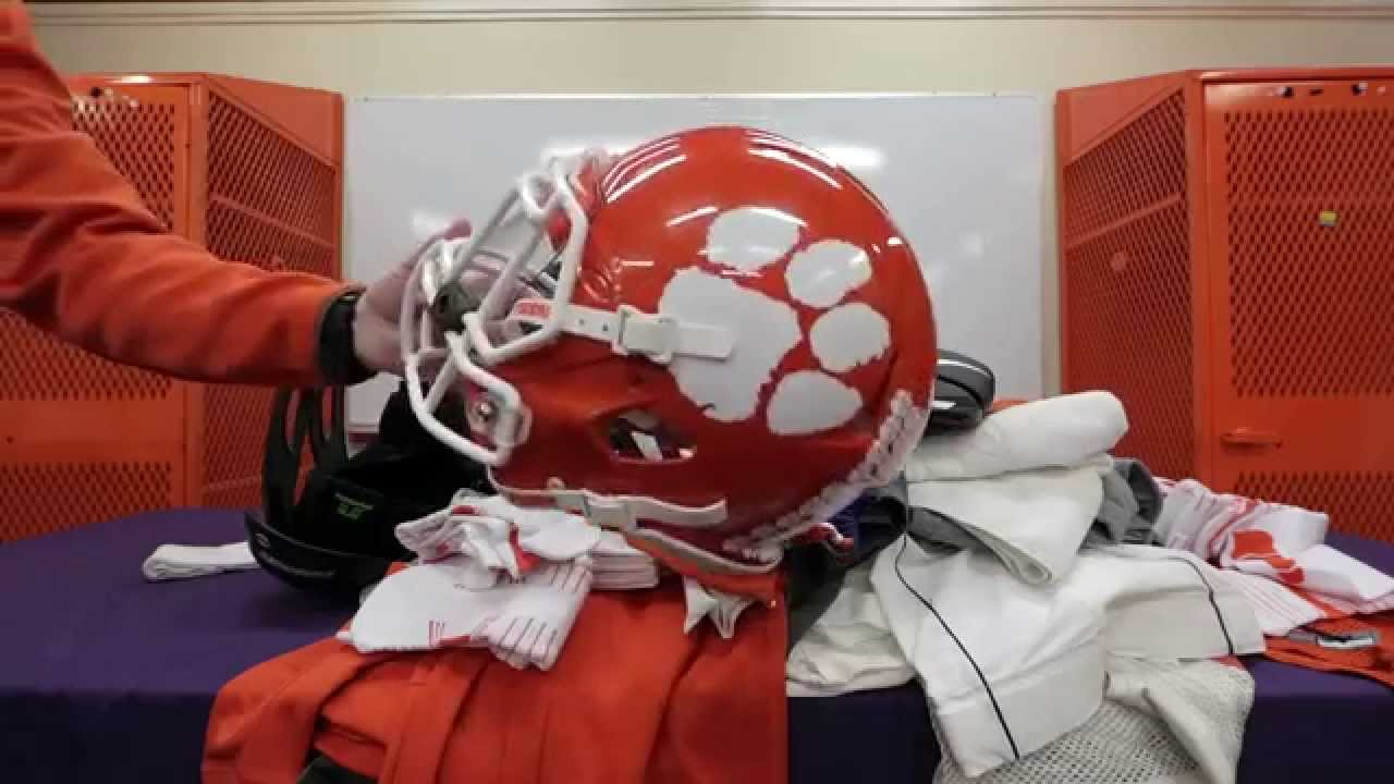 the best attitude 43ca9 f27ae Clemson Football || How Much Gear in a Year?