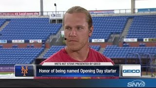 Noah Syndergaard on starting Opening Day for the New York Mets