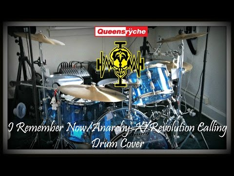 I Remember Now/Anarchy-X/Revolution Calling - Queensrÿche Drum Cover