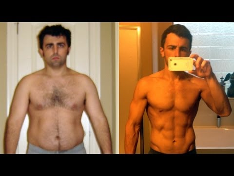 P90X Results - from Fat Kid to Six Pack Abs - Matt Richard\'s Transformation