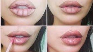 Big Lip Contouring Tutorial (Kylie Jenner Lip Kit Dupe) | Cassandra Bankson