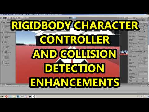 Rigidbody Character Controller w/ Collision Detection and