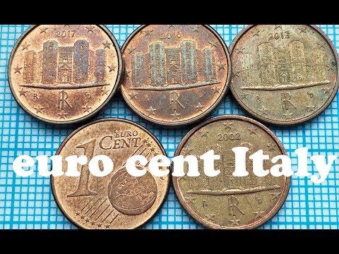 1 Euro Cent Italy You Can Watch In 4K Centesimo Di Euro L'Italia