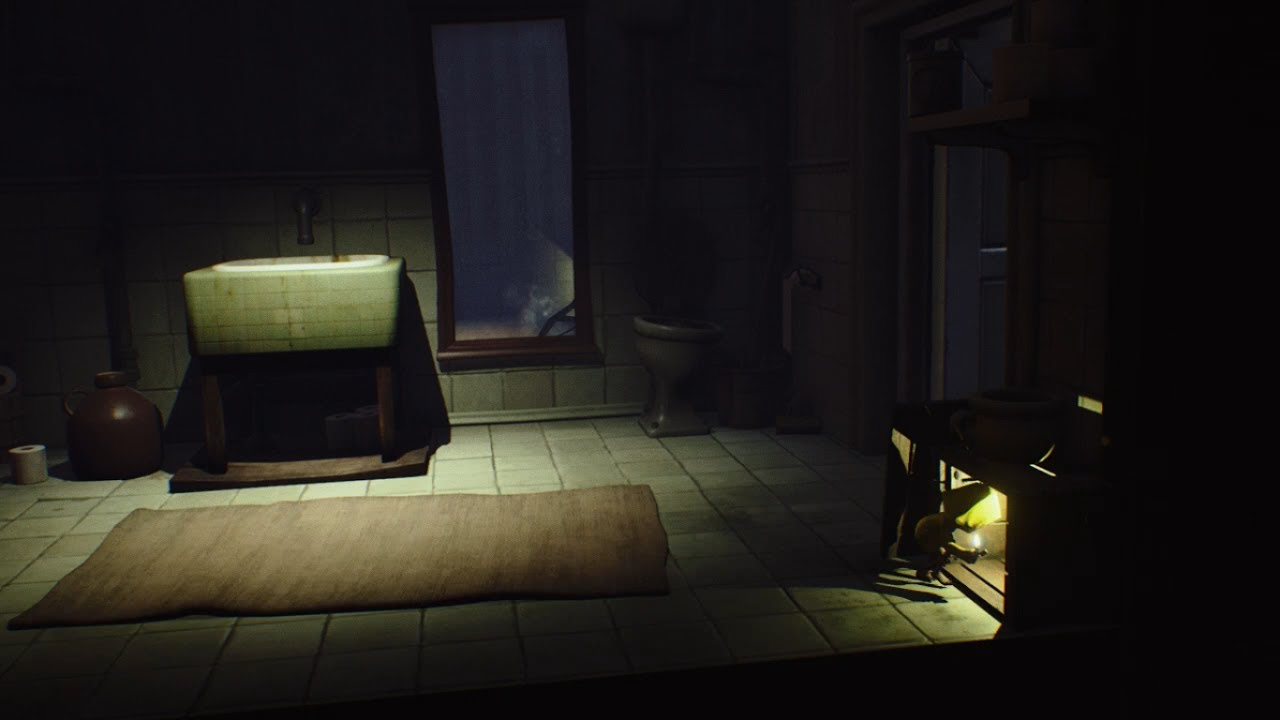 Escape The Bathroom Pro Walkthrough little nightmares bathroom /toilet/wc - youtube