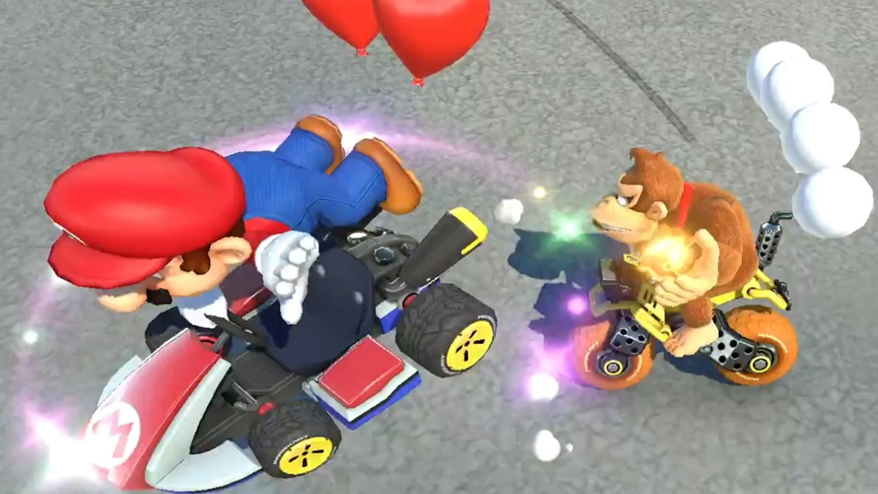 how to play 4 on mario kart 8 deluxe switch