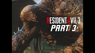 NEMESIS Type III - RESIDENT EVIL 3 REMAKE Walkthrough Part 3 - Boss Fight (RE3 PC Gameplay)