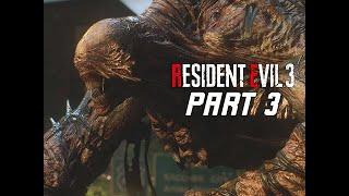 NEMESIS Type III - RESIDENT EVIL 3 REMAKE Walkthrough Part 3 - Boss Fight (RE3 PC Gameplay)