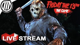Friday the 13th Game | SURVIVAL SLASHER | Gameplay Live Stream thumbnail