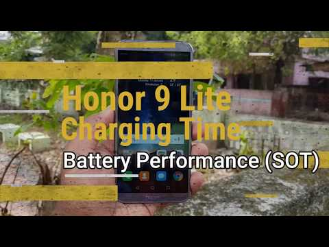Honor 9 Lite Charging time and Battery Performance (SOT)